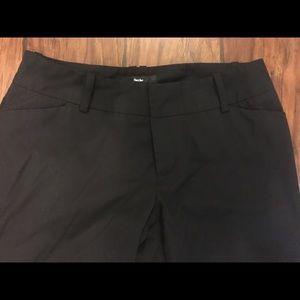 Mossimo black dress pants size 6